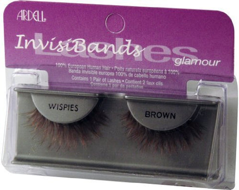 7c73be7fe26 Ardell Invisibands False Eyelashes - Wispies Brown (Pack of 4) by Ardell