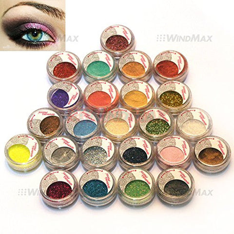 Glitter Eyeshadow Pigment Diamond Loose Powder Shimmer Mermaid Glitter Eyeshadow Gold Blue Smoky Single Color Eye Makeup Smoothing Circulation And Stopping Pains Beauty Essentials