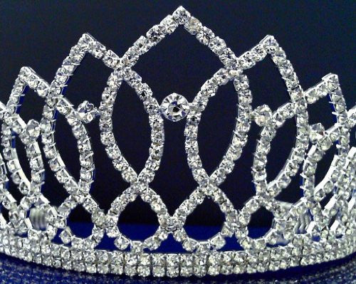 Sc Bridal Wedding Tiara Crown 99060