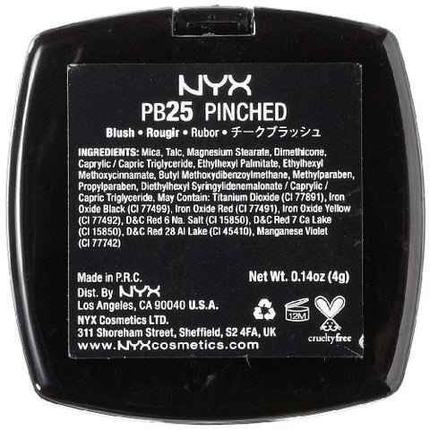 Nyx Professional Makeup Powder Blush, Pinched, 0.14  Ounce