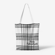 Plaid Canvas Tote Bags