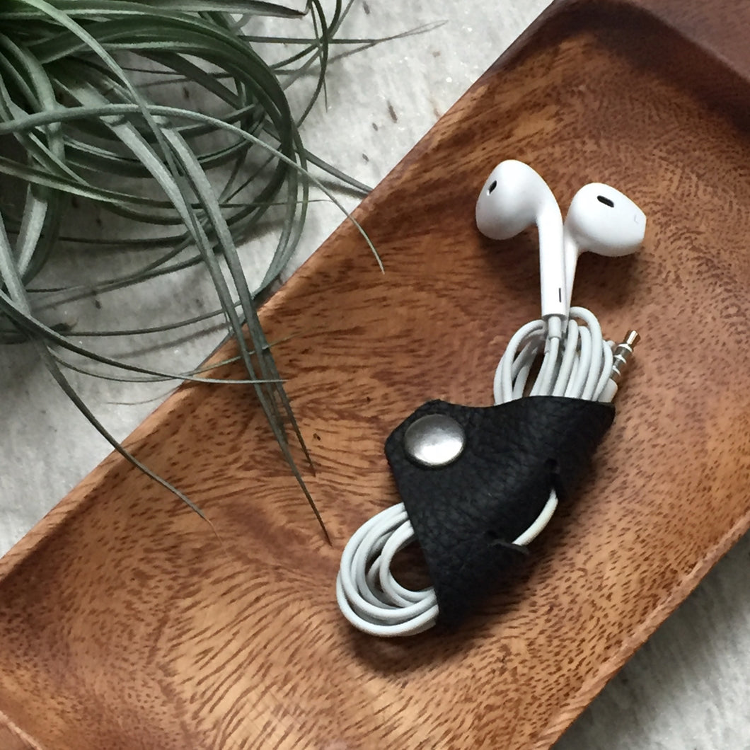 Earbud and Headphone Cord Organizers