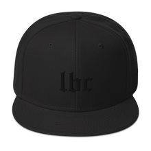 Long Beach Blackout Edition Snapback Hat