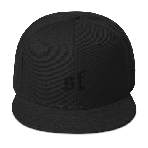 San Fran Blackout Edition Snapback Hat