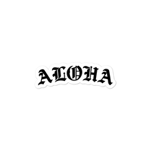 Ol School Aloha stickers