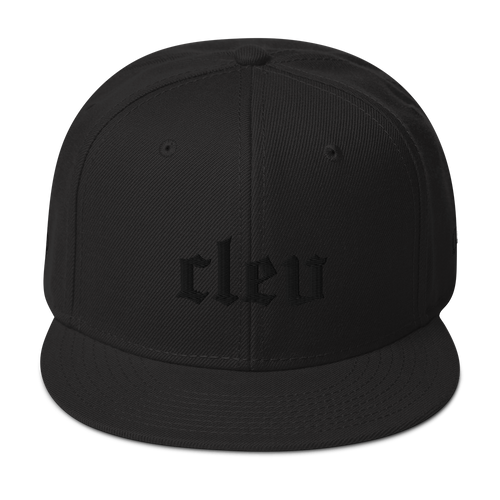 Cleveland Blackout Edition Snapback Hat
