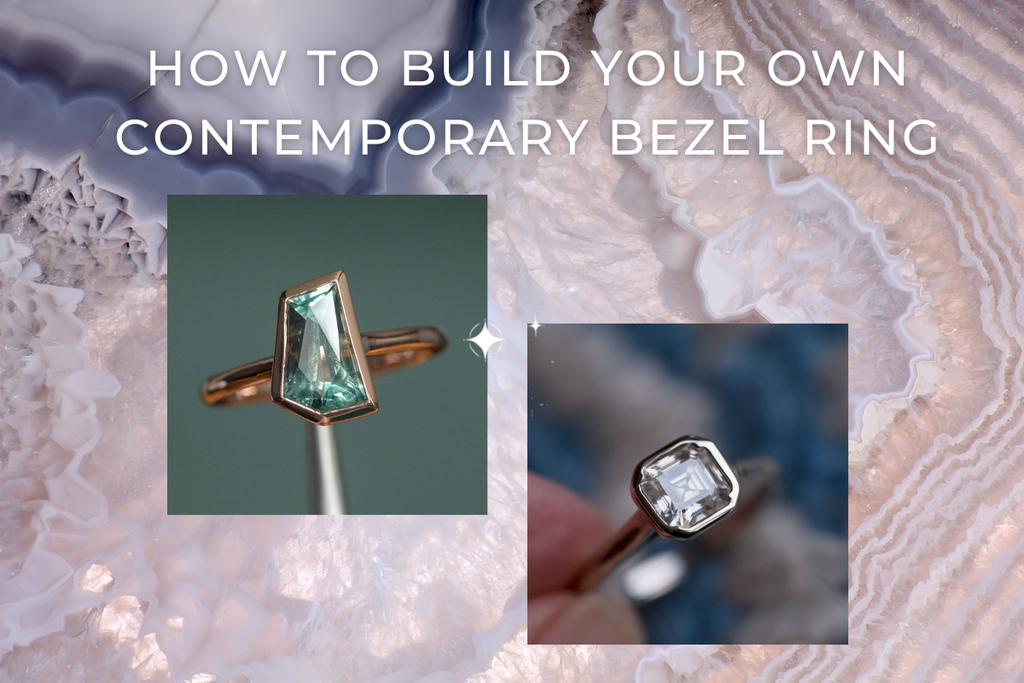 How to Build Your Own Contemporary Bezel Ring