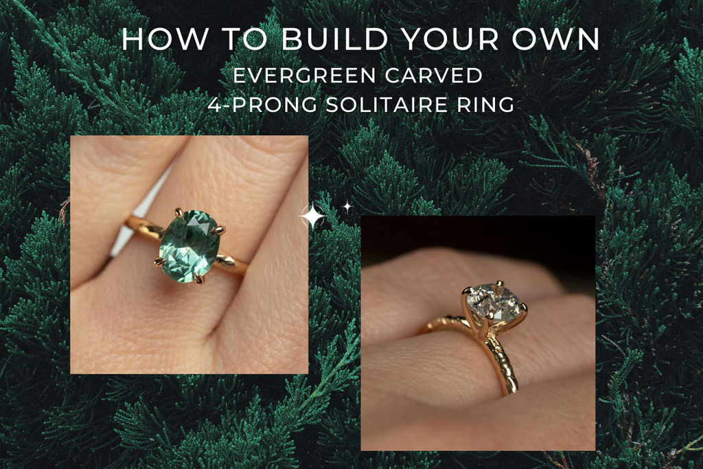 Do You Know How to Build an Evergreen Carved Solitaire Ring?