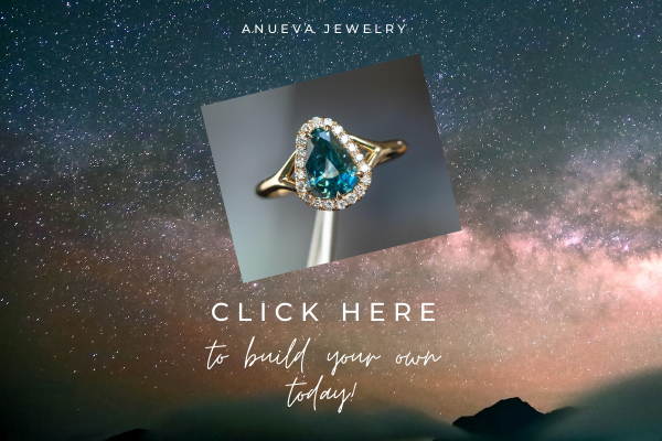 Build your own sapphire geometric ring