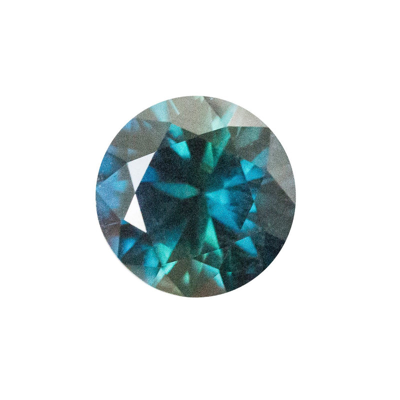 Custom Order-  1.61ct Nigerian Sapphire Upgrade - Reserved for D.Z