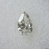 1.01CT PEAR SALT AND PEPPER DIAMOND, SLIVERY WHITE, 8.89X5.5MM