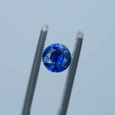 1.05CT ROUND SRI LANKAN SAPPHIRE, BRIGHT ROYAL BLUE, 6.5MM