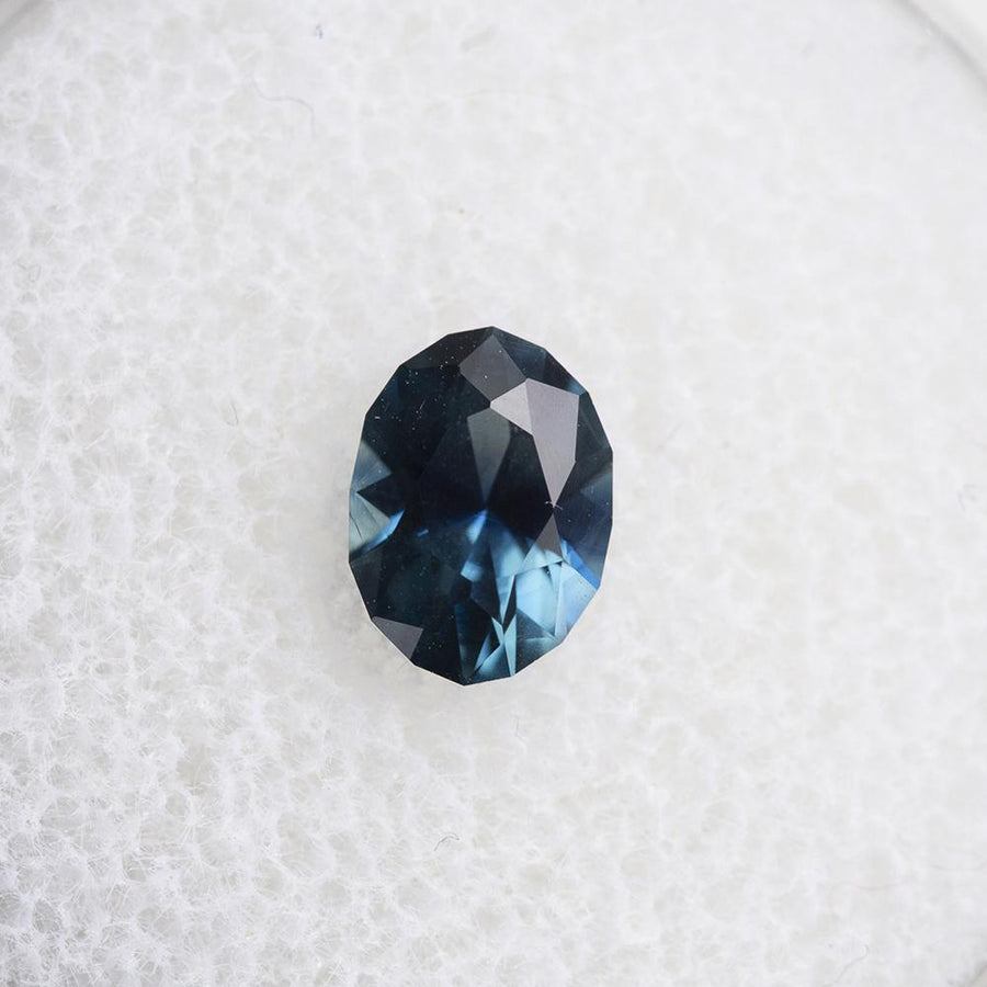 1.07CT OVAL NIGERIAN SAPPHIRE, OCEAN BLUE, UNHEATED, 7.2X5.3MM