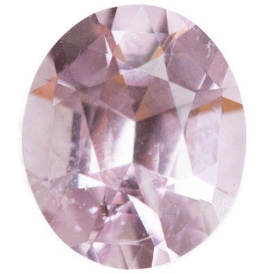 1.08CT OVAL BURMESE SPINEL, LIGHT BABY PINK, UNHEATED, 6.98X5.86MM