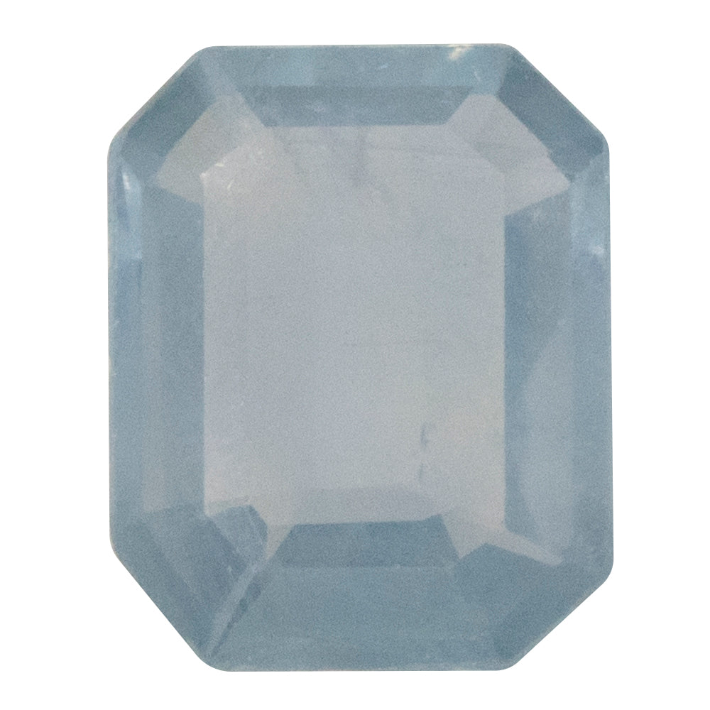 1.23CT EMERALD CUT MONTANA SAPPHIRE, PASTEL BLUE, UNHEATED, 7.30X5.84MM