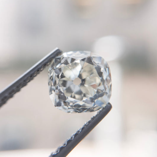 Custom Order- Diamond Listing for Custom Ring: 1.24ct Old Cushion