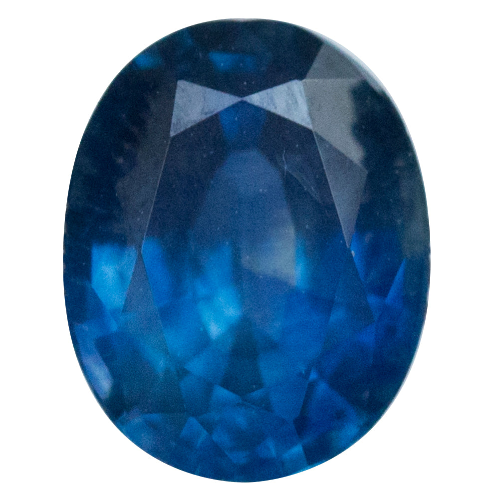 1.43CT OVAL MONTANA SAPPHIRE, ROYAL BLUE, 7.3X5.8MM