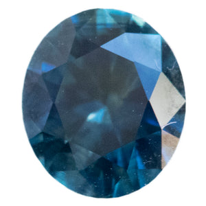 1.51CT OVAL MONTANA SAPPHIRE, VIBRANT OCEAN BLUE, 7.6X6.4MM