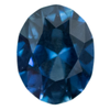 1.59CT OVAL NIGERIAN SAPPHIRE, OCEAN BLUE WITH TEAL,GREAT CLARITY, UNHEATED, 8x6.3x4MM