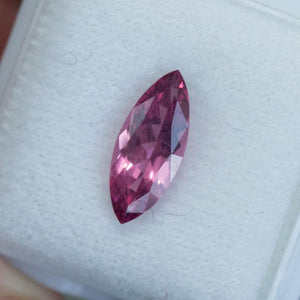 1.68CT MARQUISE SPINEL, VIBRANT PINK RED, UNTREATED, 12.9X5.3MM