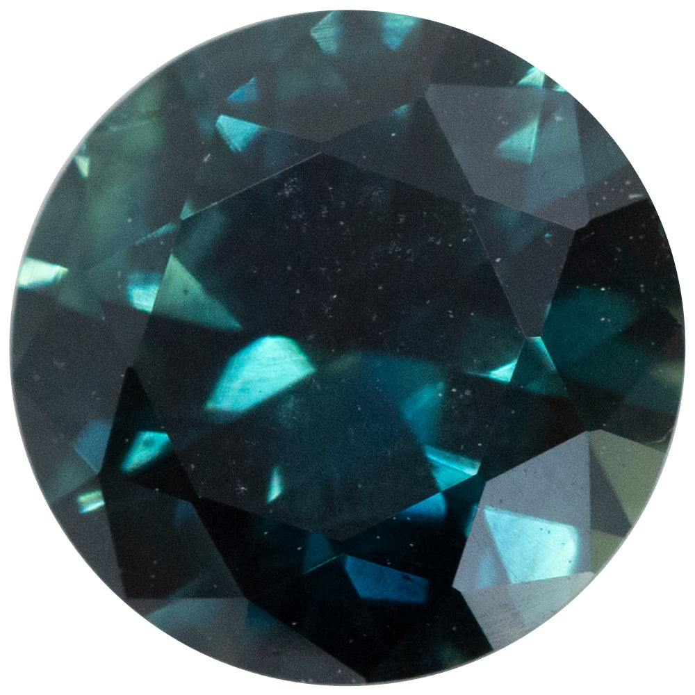 1.74CT ROUND AUSTRALIAN SAPPHIRE, DEEP OCEAN BLUE, UNHEATED, 7.53MM