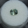 1.76ct RADIANT CUT MONTANA SAPPHIRE, GREEN BLUE TEAL, 7.10X5.5MM