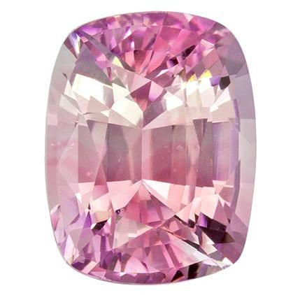 1.78ct CUSHION SAPPHIRE, PINK PARTI COLOR, 7.58X5.87MM