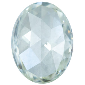 1.84CT OVAL ROSECUT DIAMOND, GIA CERTIFIED, M COLOR, SI1 CLARITY, 9.32X6.95x2.97MM