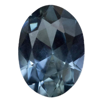 1.96CT OVAL NIGERIAN SAPPHIRE, MEDIUM BLUE, TEAL AND PERIWINKLE, UNHEATED, 9.2X6.4MM