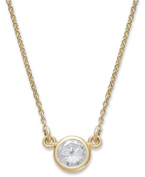 Custom Order- Bezel set Necklace and Chain- Reserved for C.S