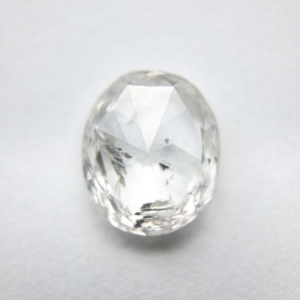2.12ct 9.12x7.66x3.02mm I1 H Oval Rosecut 18041-03