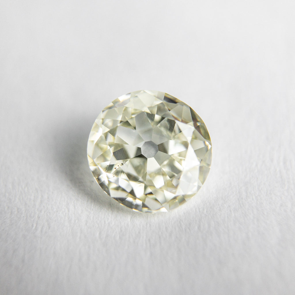 0.90ct 6.54x6.29x2.69mm SI1 N Round Modern Old European Cut 18053-01