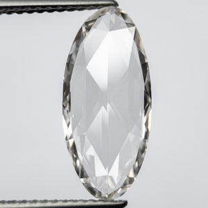 3.02ct 16.56x7.70x2.54mm GIA VVS2 I Oval Rosecut 18054-01