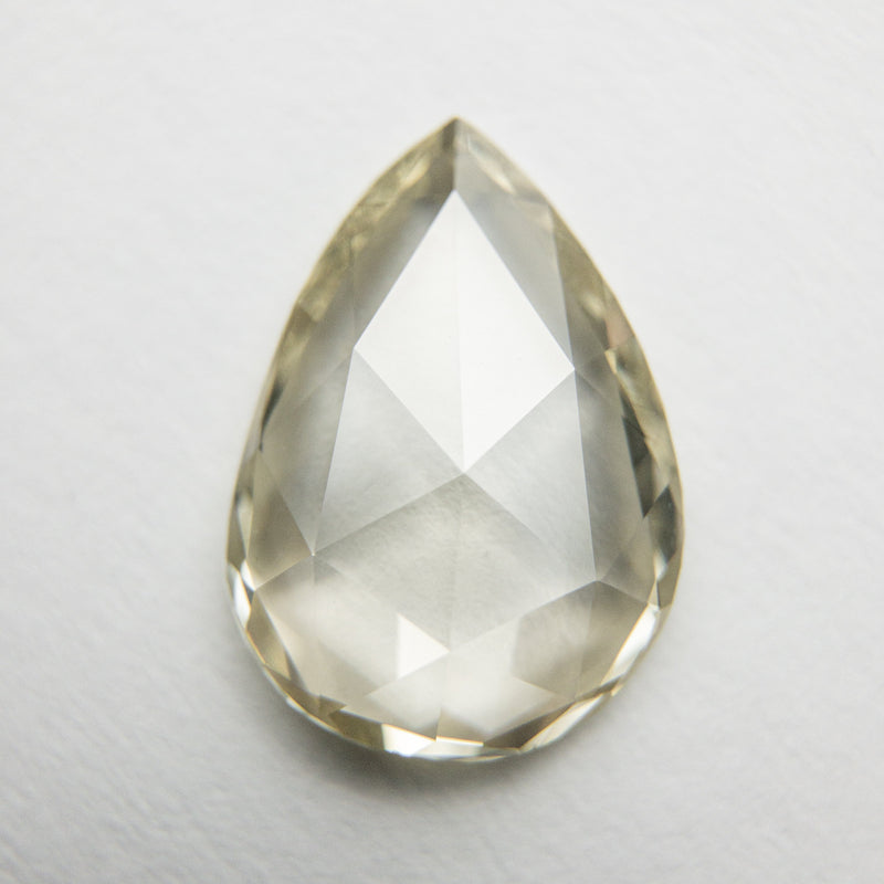 2.04ct 11.89x8.42x2.58mm VS2 Champagne Pear Rosecut 18072-01