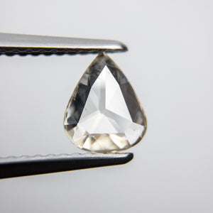 0.73ct 7.56x6.22x1.84mm Pear Rosecut 18090-14