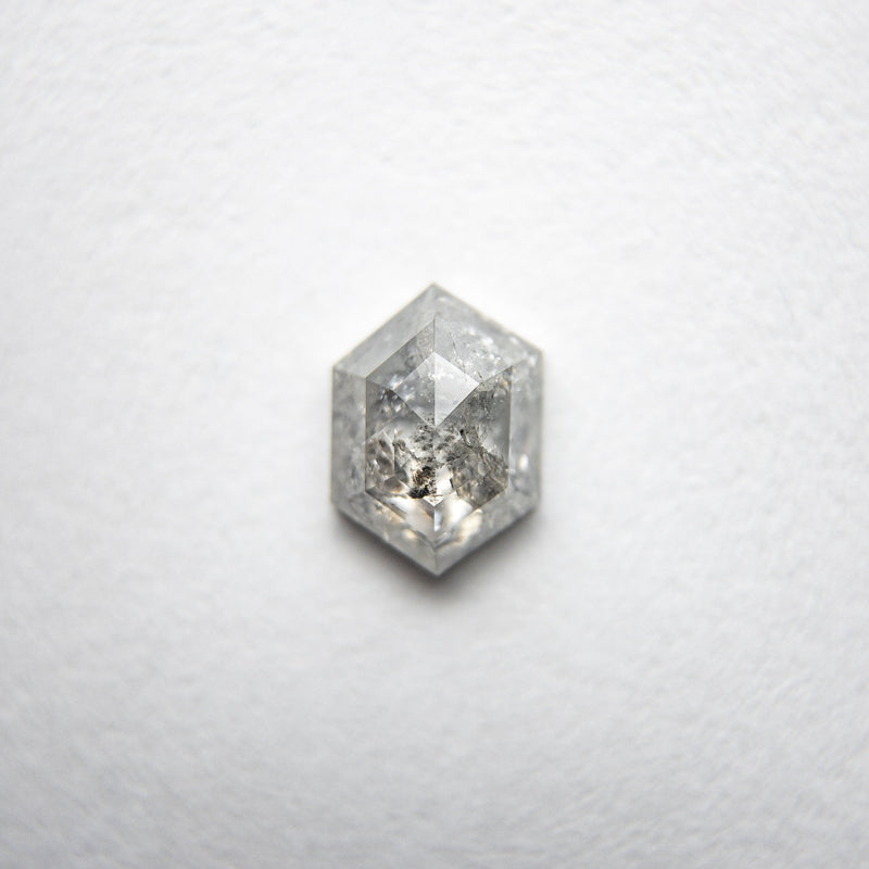 0.64ct 6.36x4.61x2.49mm Hexagon Rosecut 18134-13