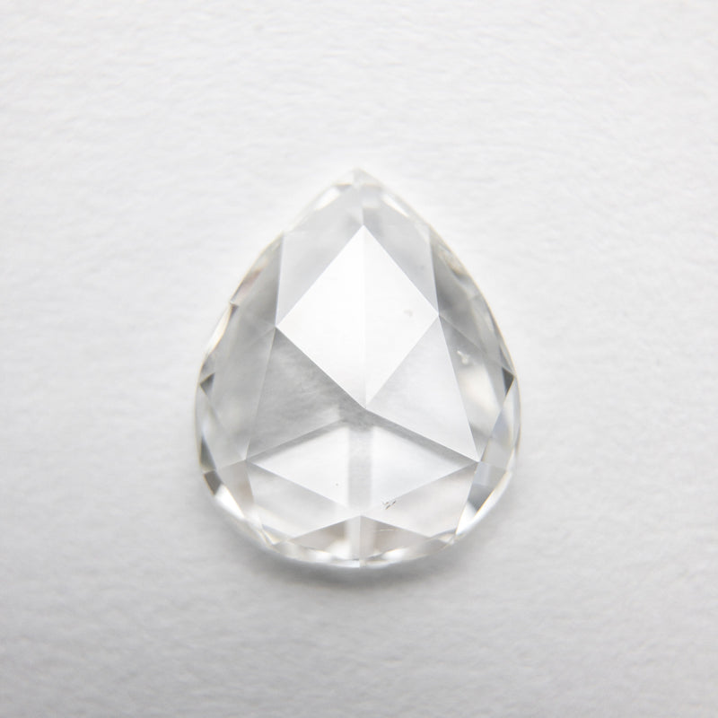 1.10ct 8.99x7.41x2.08mm SI1 G Pear Rosecut 18218-13