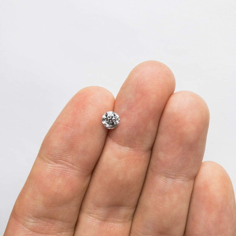 0.71ct 5.56x5.52x3.54mm Round Brilliant 18357-18