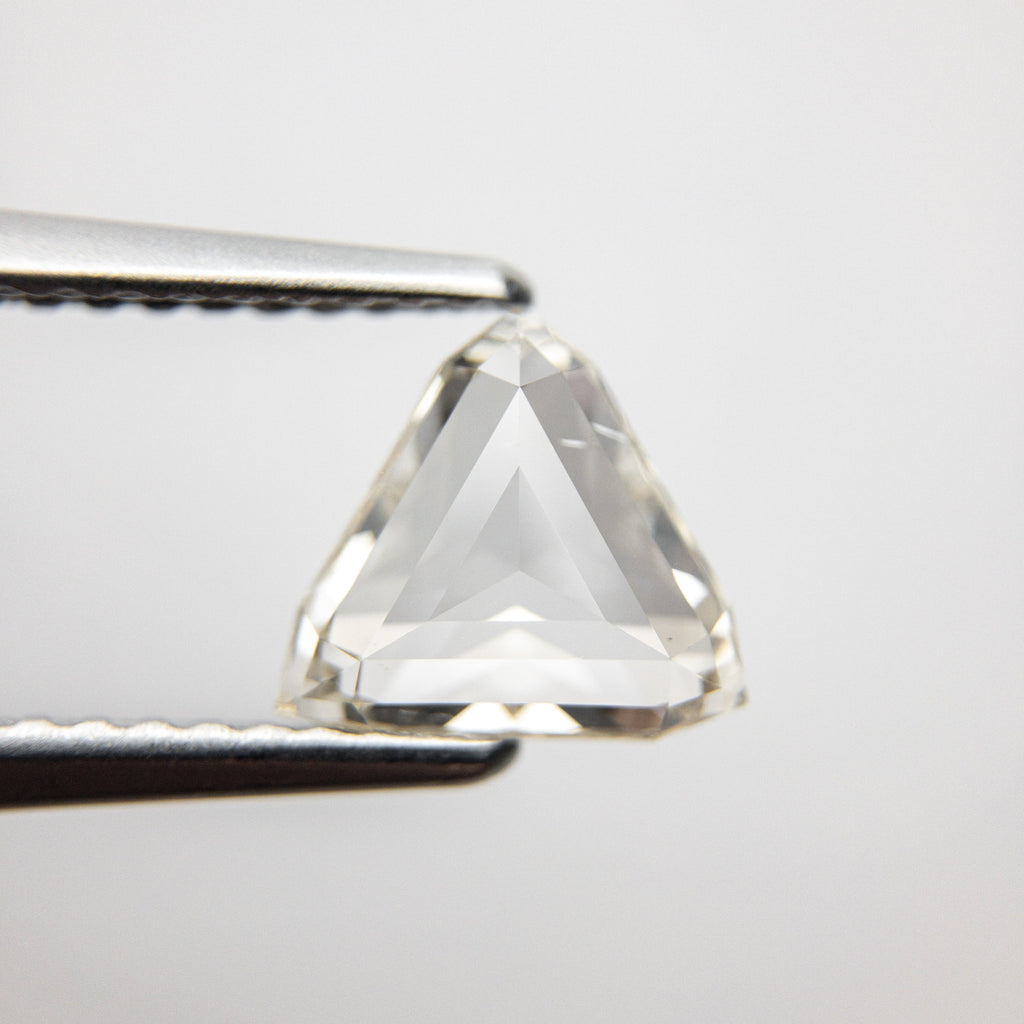 1.03ct 7.64x7.29x2.52mm Trillion Rosecut 18369-18