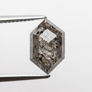 3.43ct 12.66x7.84x3.97mm Hexagon Rosecut 18407-01