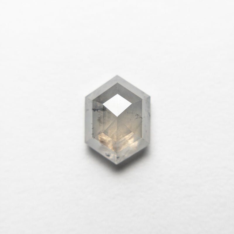 1.07ct 7.27x5.36x3.19mm Hexagon Rosecut 18455-07