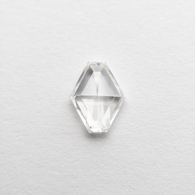 0.59ct 6.76x5.30x2.04mm Hexagon Rosecut 18495-19