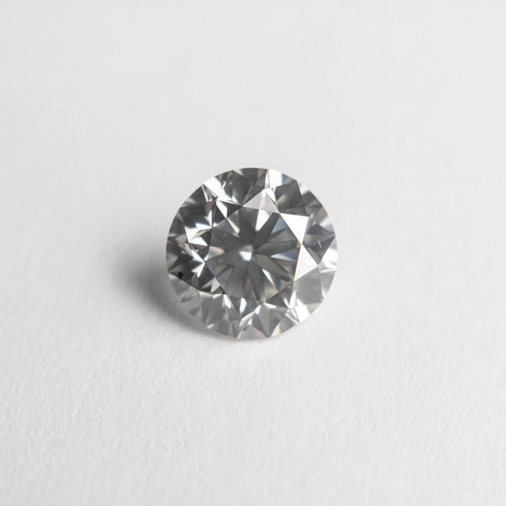 1.00ct 6.26x6.16x4.01mm GIA SI1 Faint Grey Round Brilliant 18674-01