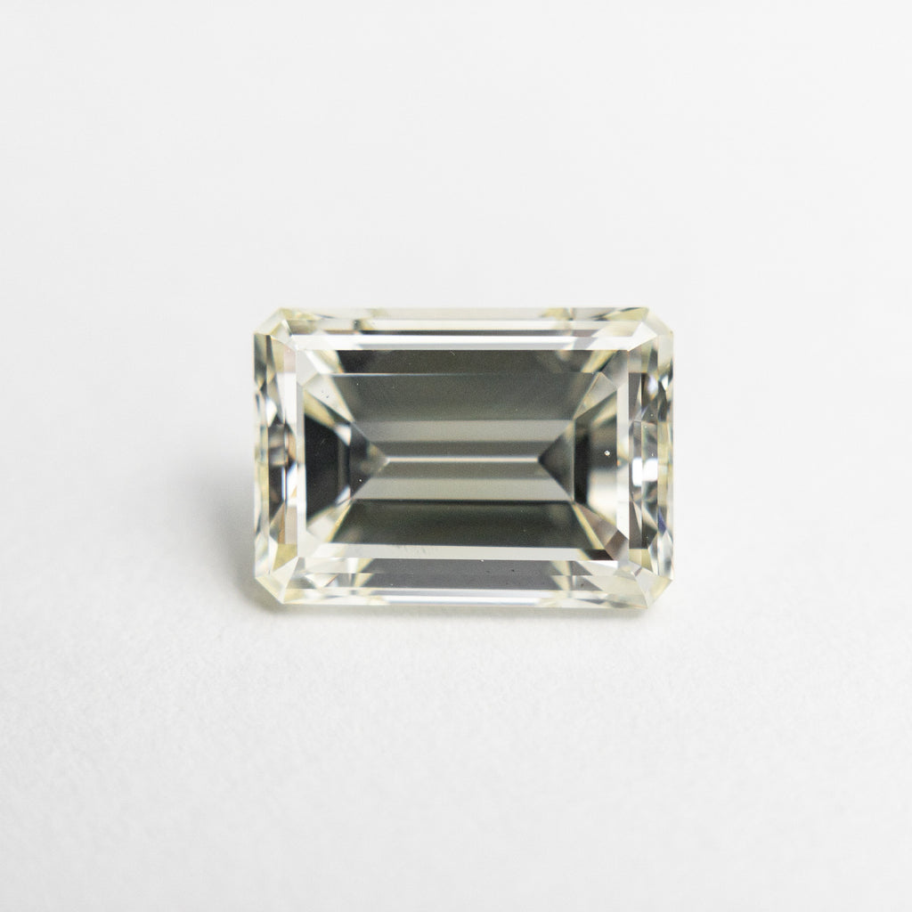 1.93ct 8.49x6.08x4.10mm VS2 Champagne Antique Emerald Cut 18800-01