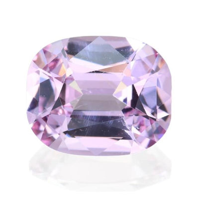 2.19CT CUSHION BURMESE SPINEL, PLATINUM LIGHT PINK, 8.92X7.37MM