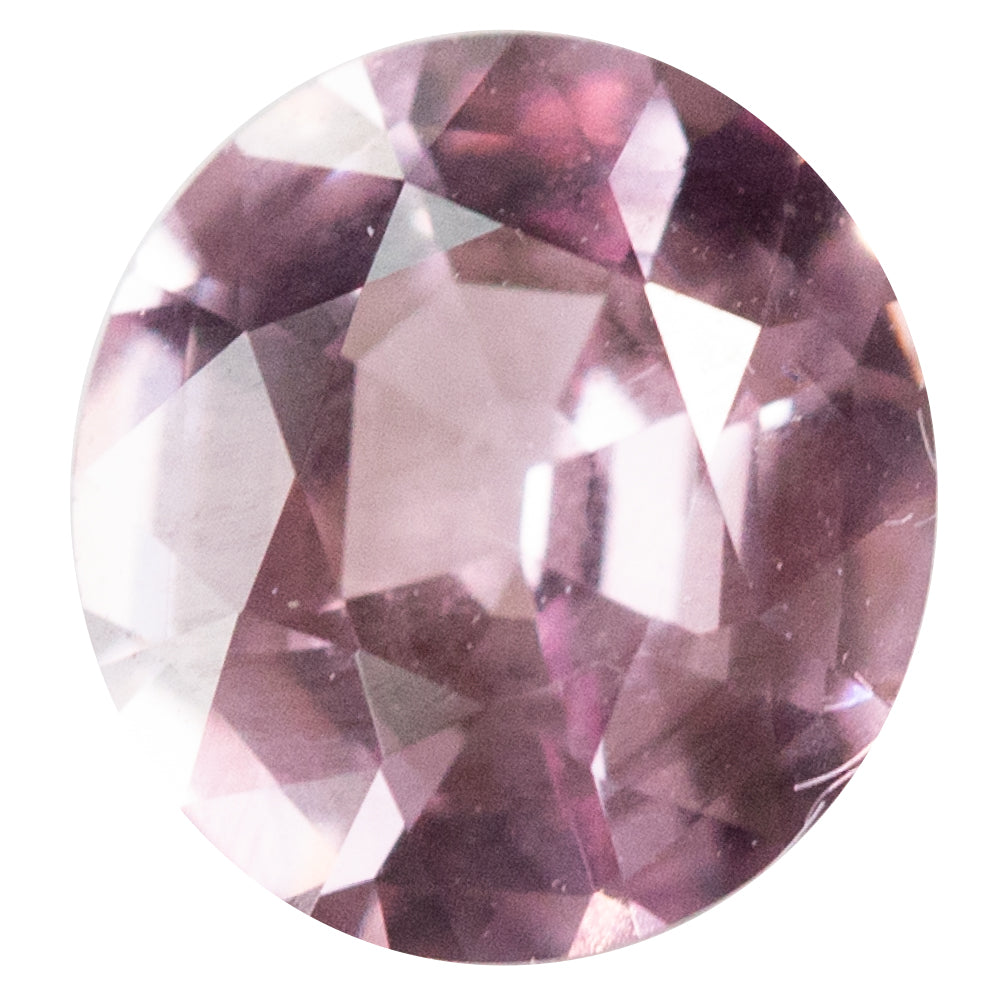 1.00CT OVAL BURMESE SPINEL, PINK, 6.63x6.13mm