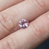 1CT OVAL BURMESE SPINEL, PINK, 6.6X6.1MM