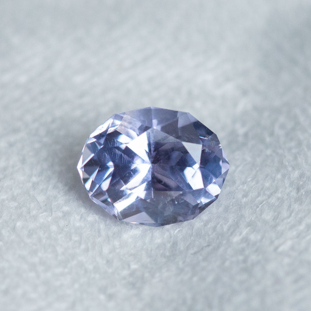2.05CT CEYLON OVAL SAPPHIRE, LIGHT PURPLE, UNHEATED, 8.33X6.58X4.97MM