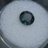 2.07 ROUND NIGERIAN SAPPHIRE, DEEP GREEN AND BLUE, 7.98MM