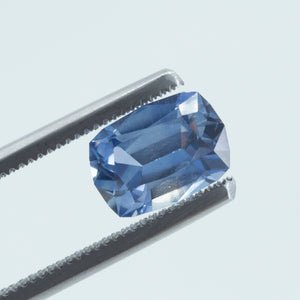 2.35CT ELONGATED CUSHION CUT MONTANA SAPPHIRE, BLUE, 9.14X6.64MM